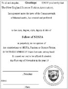 Old FN certificate