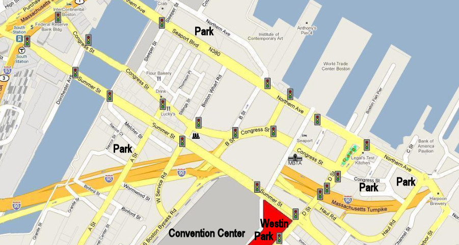 Map Of Boston Parking Pictures To Pin On Pinterest  PinsDaddy